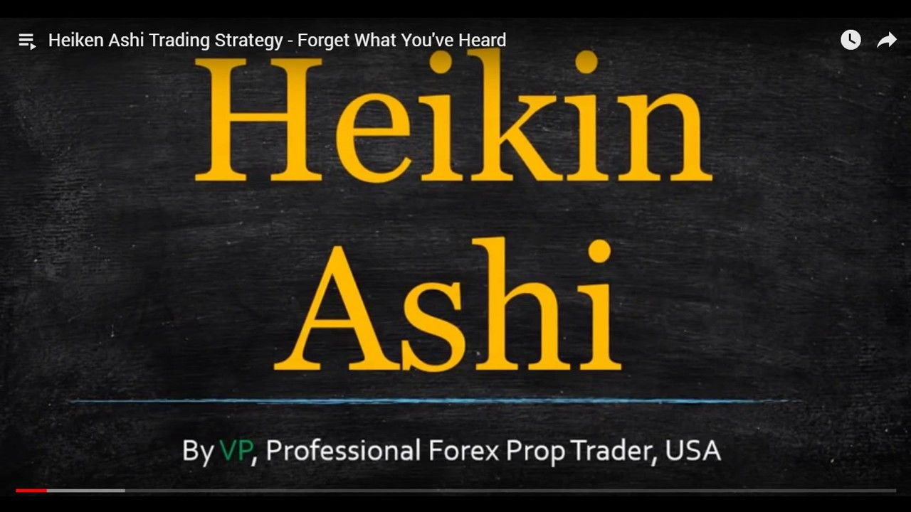 Heiken Ashi Trading Strategy The Only One Good Way To Use The