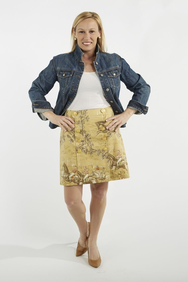 """B Social Skirt - """"Tally Woah"""" - available July 2015 on www.bthecollection.com"""