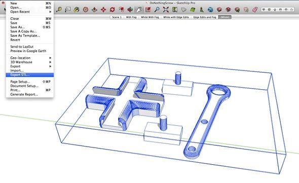 3d Printing With Sketchup 10 Tricks Prints 3d Printing 3d