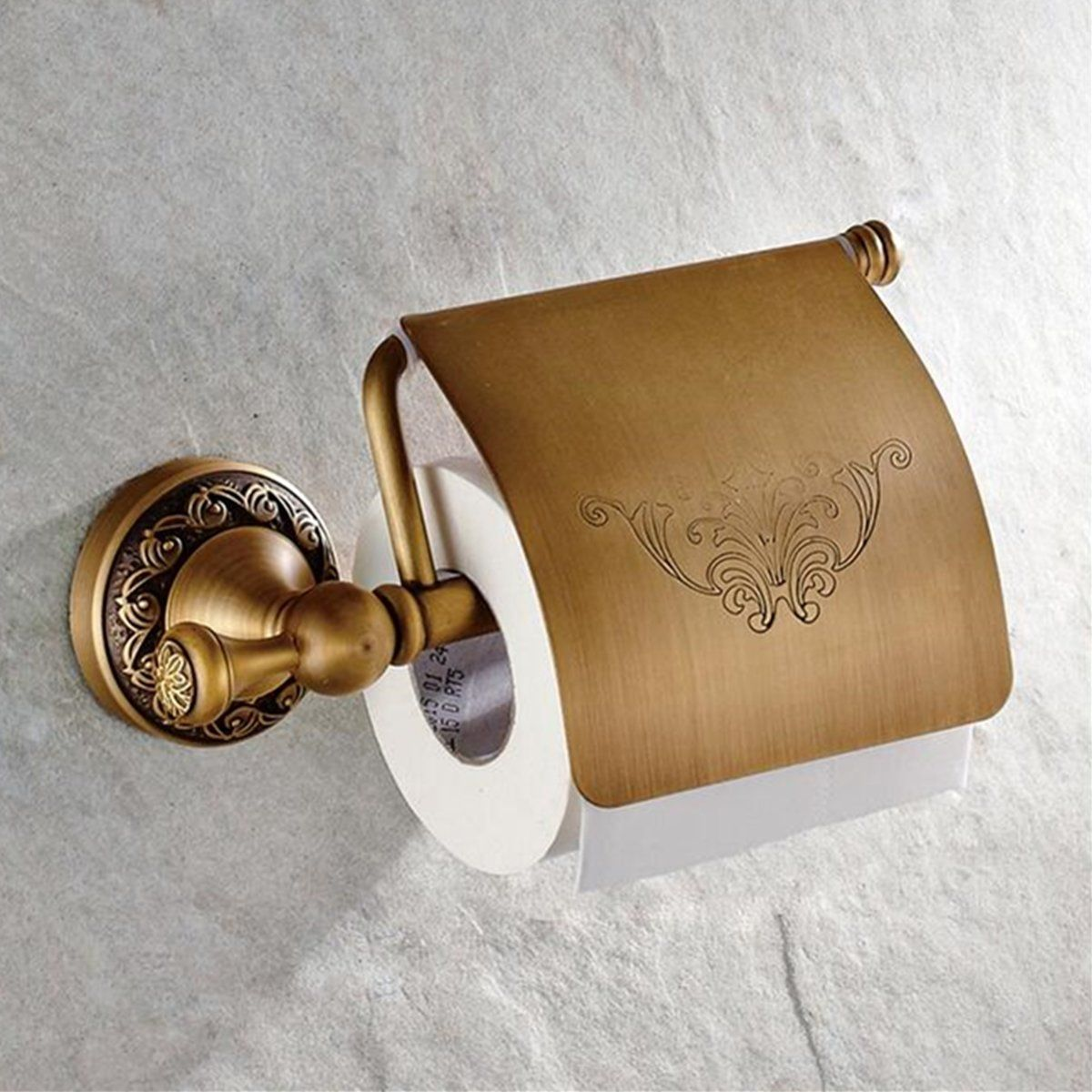 Wall Mounted Antique Brass Toilet Paper Roll Holder Home Accessory Toilet Paper Roll Holder Toilet Paper Holder Paper Holder