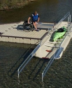 EZ Launch transfer dock for Kayaks and Canoes.>>> See it. Believe it. Do it. Watch thousands of SCI videos at SPINALpedia.com