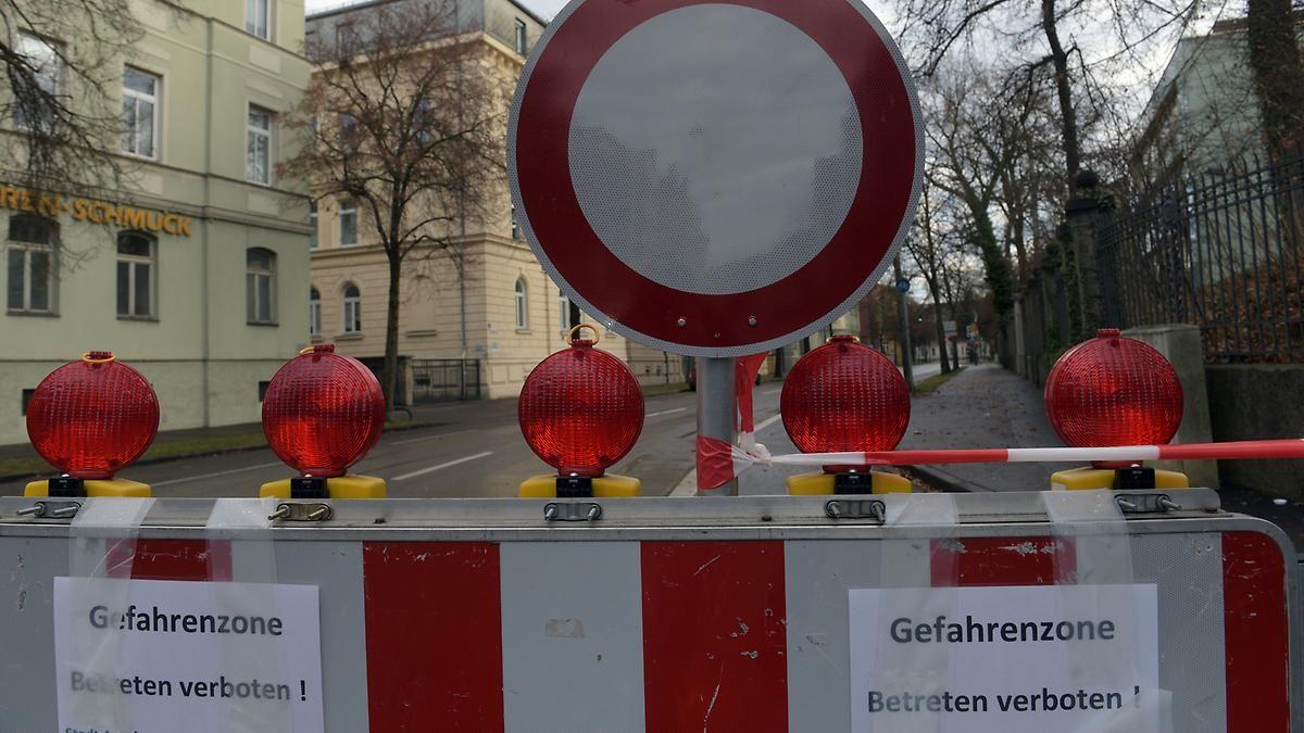 Evakuierung von 54.000 Menschen: 1,8-Tonnen-Fliegerbombe in Augsburg entschärft