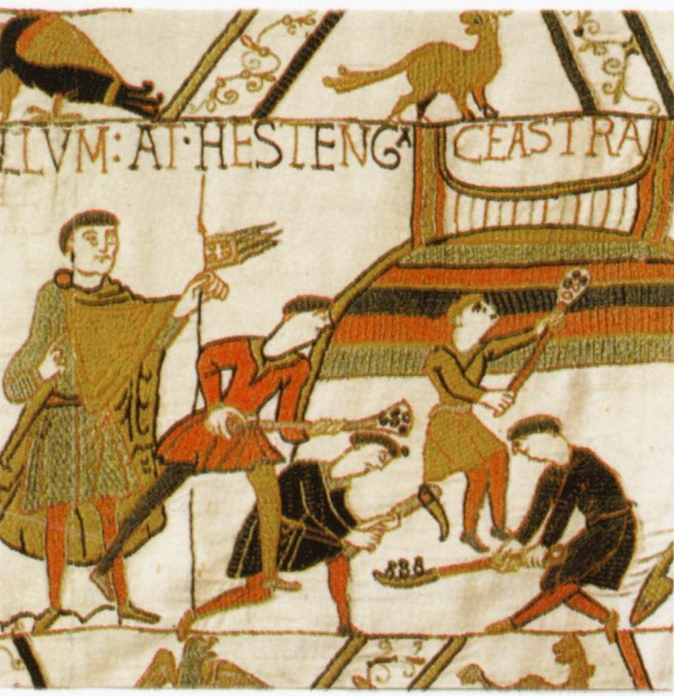 Tapestry By Unknown Weaver The Bayeux Tapestry Detail Wga24172 Hastings Castle Wikipedia Bayeux Tapestry Bayeaux Tapestry Medieval Embroidery