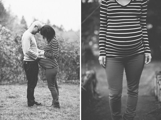 Laid-back style - Village Date Maternity Shoot