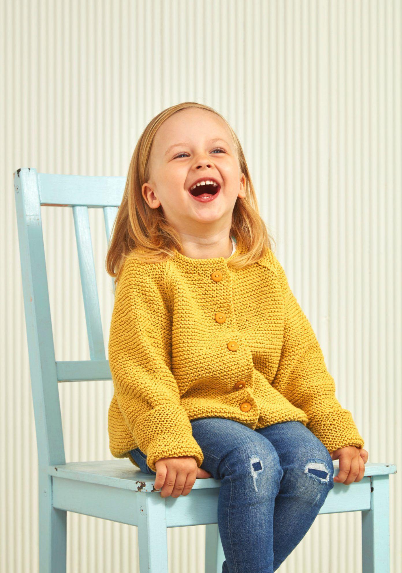 Photo of Kinderjacke mit Knopfleiste