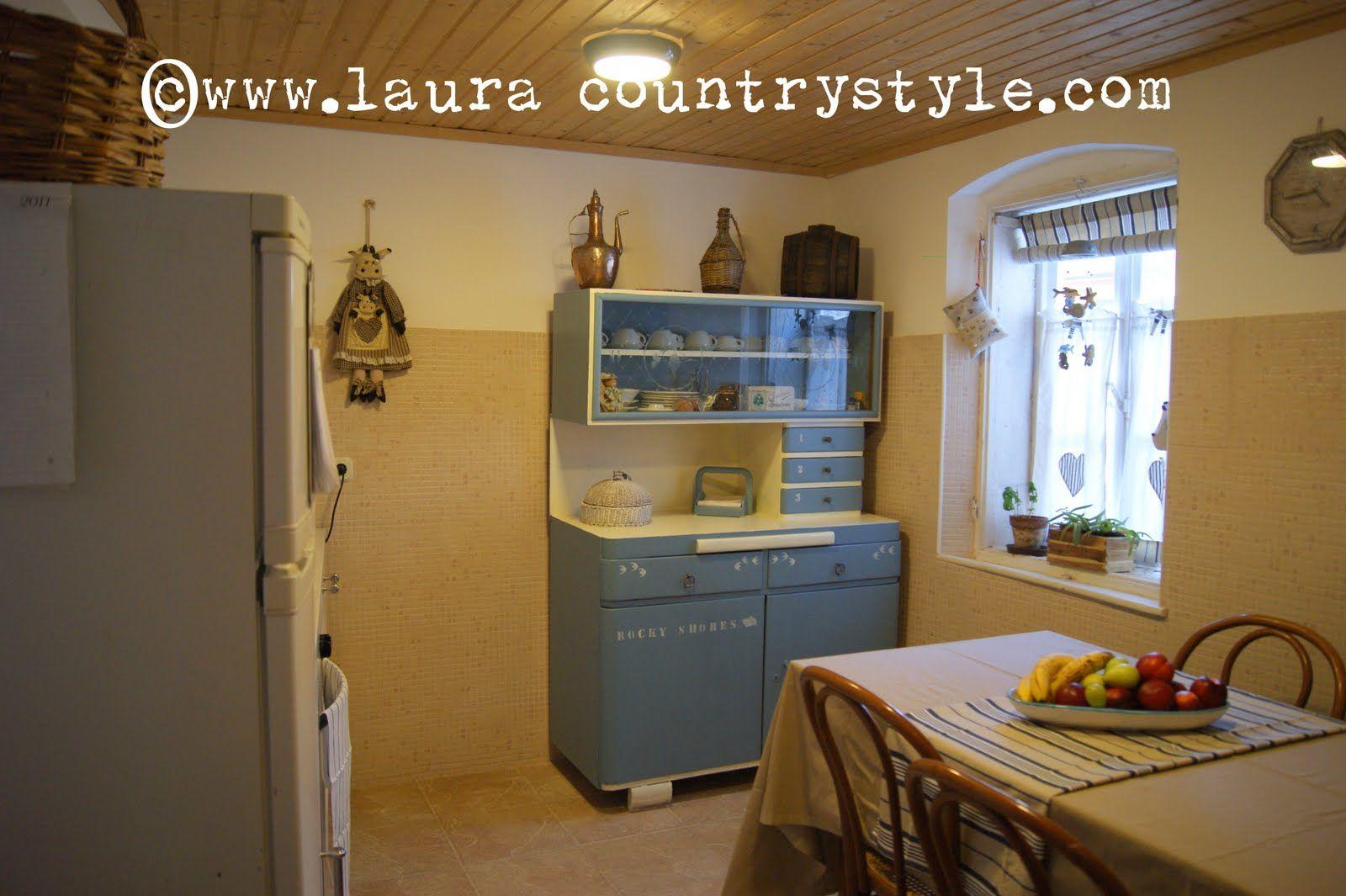 Cucina Stile Anni 50   Rimodern Credenza Da Cucina Vintage Anni 3950 ...