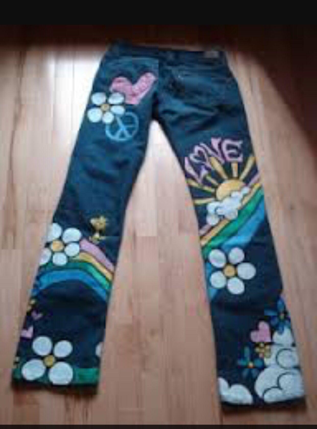 Lobe These Hippie Jeans Hippie Costume Diy Hippie Costume
