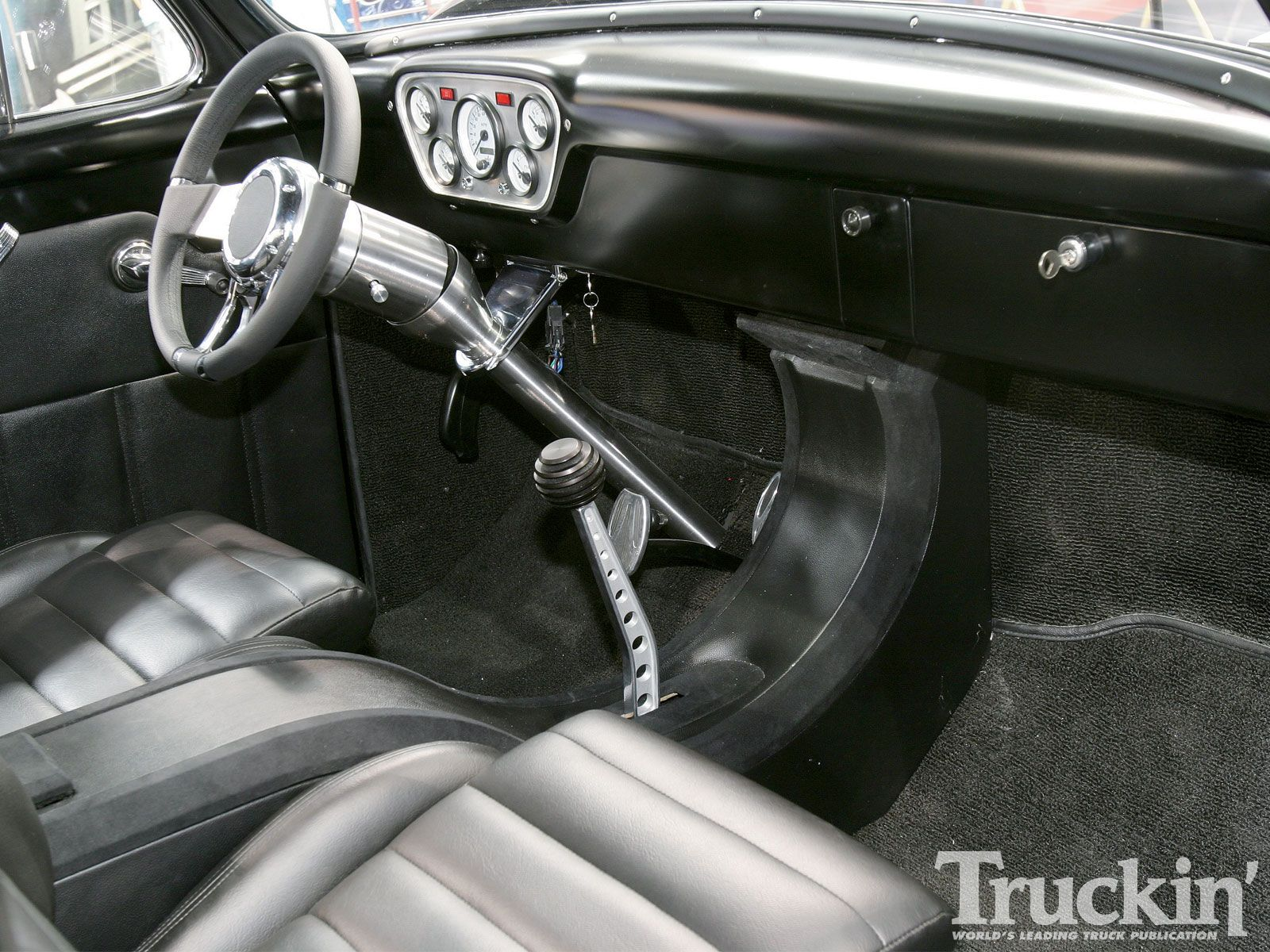 Ford F100 1955 Pick Up Hot Rod Expendables Sylvesterstallone Pickup Truck Gas Pedal Custom Interior