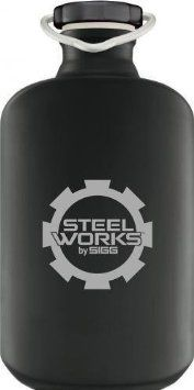 Steelworks By Sigg Oval Bottles 0 6litre Logo Amazon Co Uk