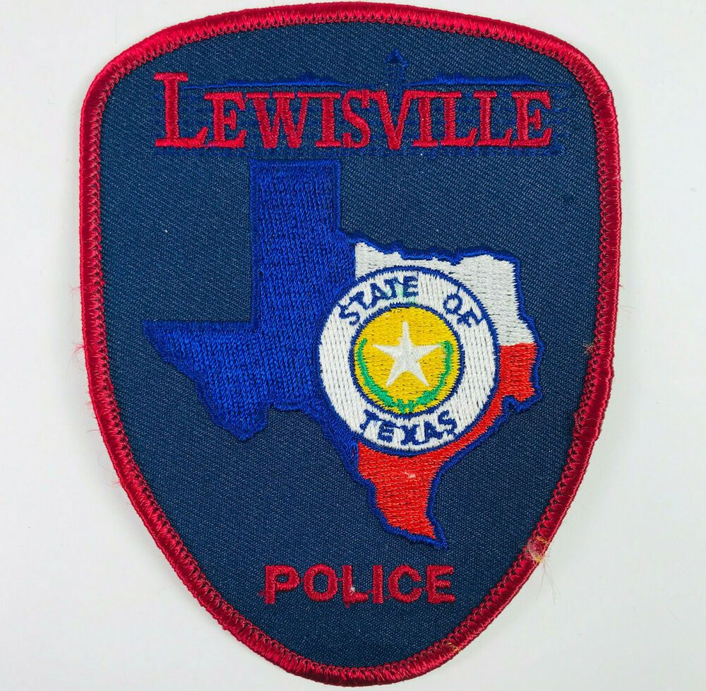 Details about Lewisville Police Texas Patch in 2020