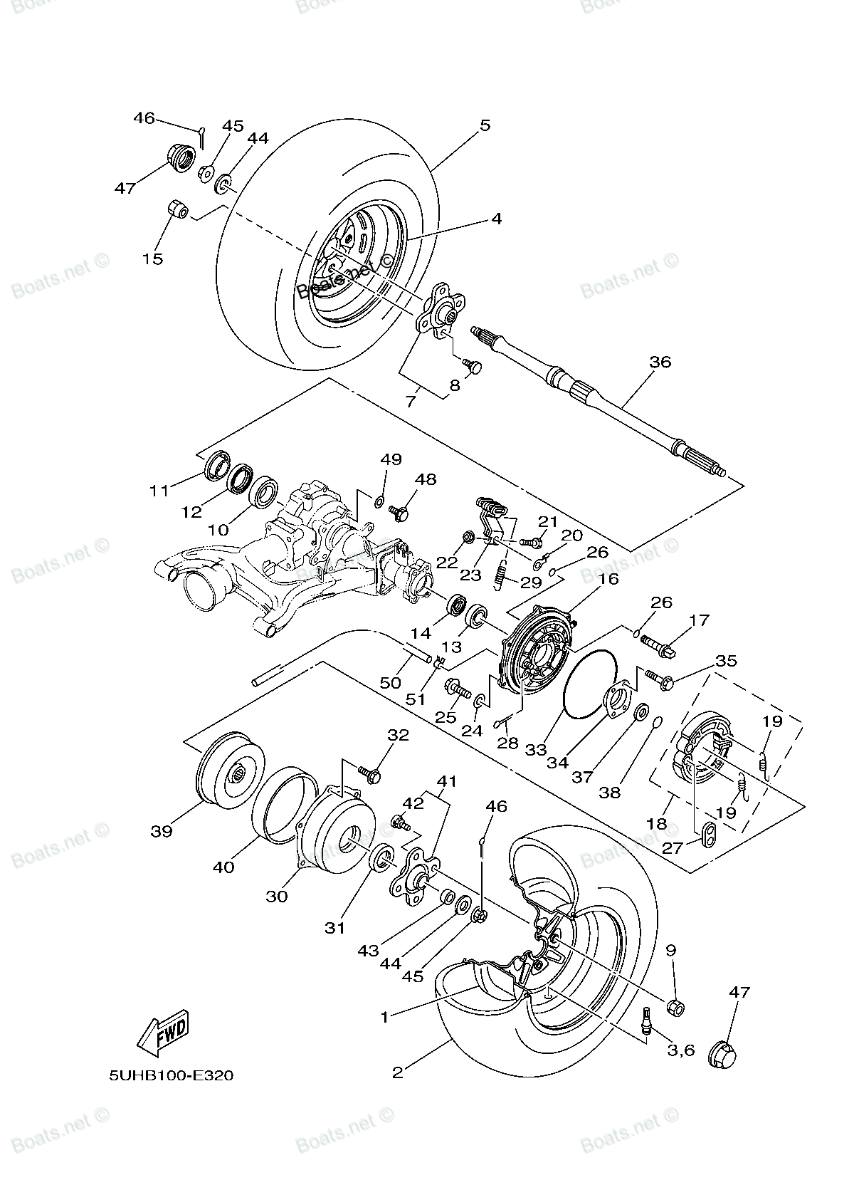 diagram of 2008 grizzly 350 4wd