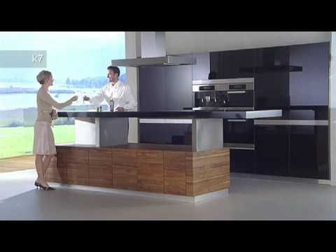 Team 7 at Eurocuchina \u201cLoft\u201d Wild Oak Kitchen - YouTube cozinha