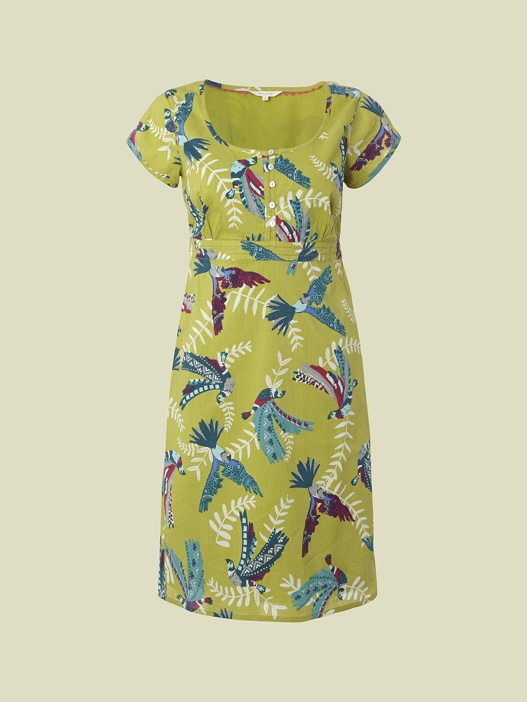 FLYING PARROTS DRESS | dresses | White Stuff | Warm & Muted ...