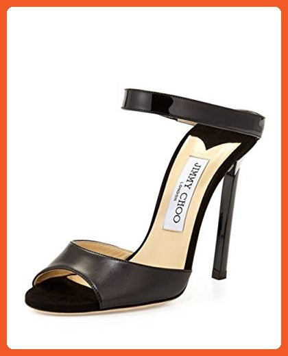 7cd2654ff Jimmy Choo Deckle Double-Band Leather Slide Size 9US - Sandals for women  (*Amazon Partner-Link)