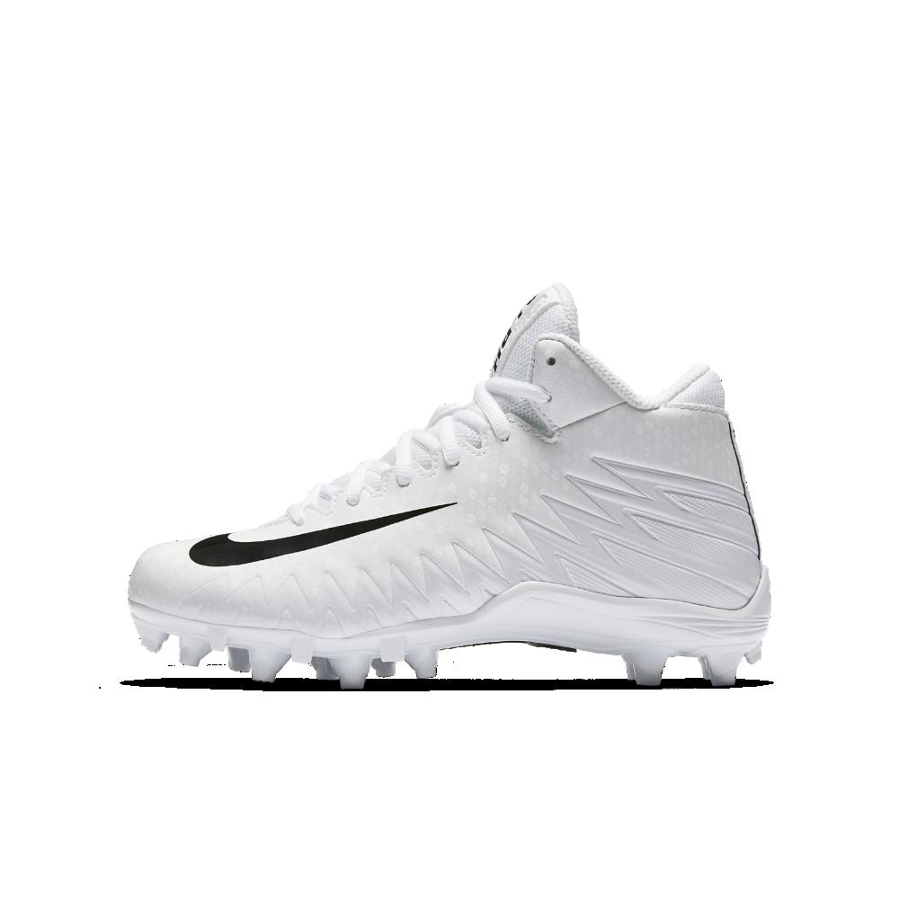 e863a1c4679 Nike Alpha Menace Varsity Mid Little Big Kids  Football Cleat Size ...