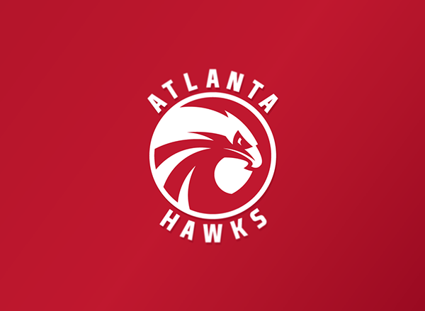 Concept Logo Of One Of The Nba Basketball Teams Atlanta Hawks This Is A Concept Art Only This Logo Is Not The Official Hawk Logo Logo Concept Atlanta Hawks
