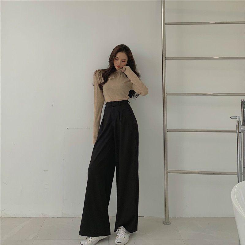Ginger Girl Wide Leg Dress Pants   YesStyle   Fashion outfits, Wide leg  dress pants, Korean fashion