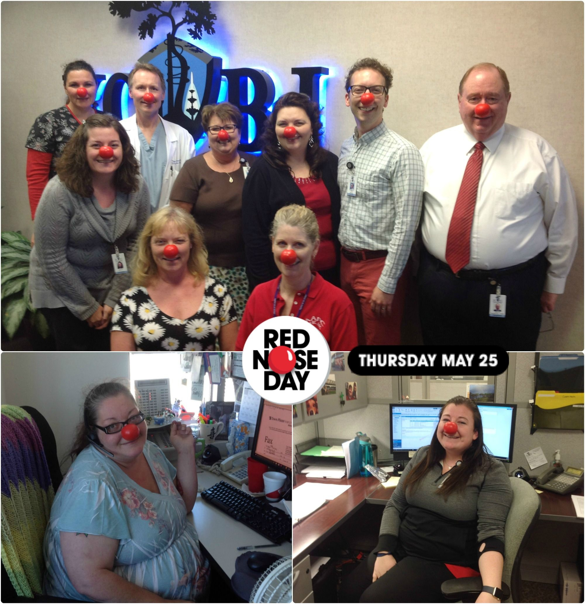 Red nose day team kcbj joined the fight to end child