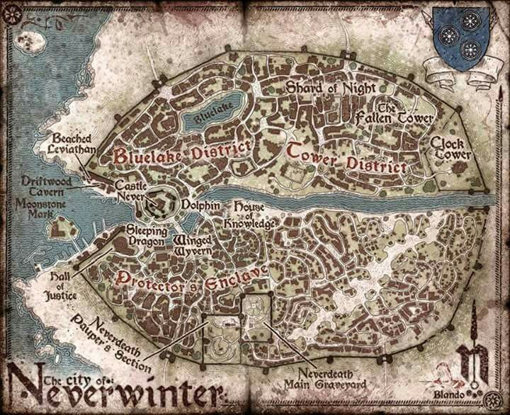 neverwinter map neverwinter d d d d pinterest rpg dungeon