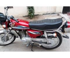 Honda CG 125 Almost New Model 2015 Original Files For Sale In Faisalabad