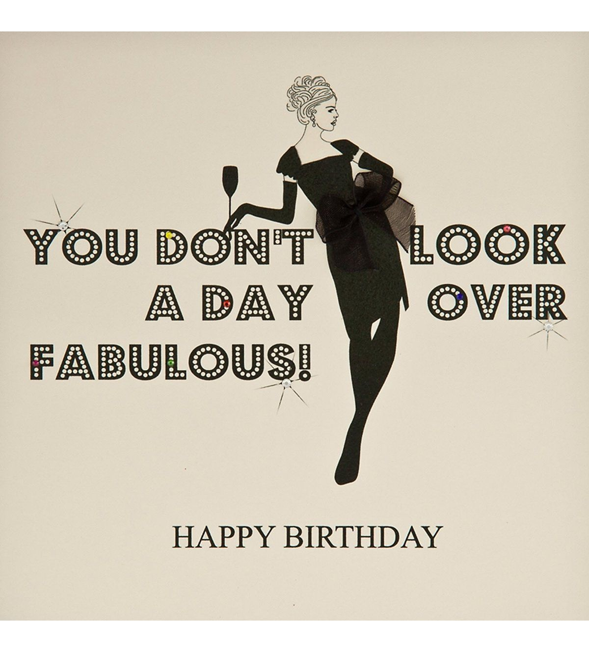 Behind the chair ecards - Five Dollar Shake You Don T Look A Day Over Fabulous Birthday Card