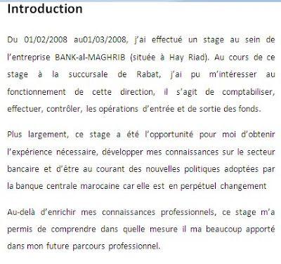 exemple rapport de stage   Rapport de stage bts, Exemple ...