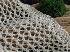 Schal Mit Lochmuster Anleitung Knitting Pinterest Knitting