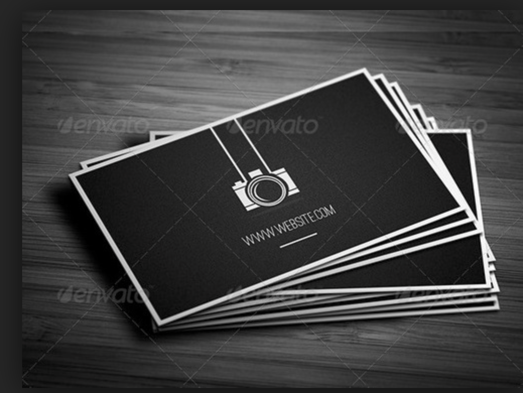 Pin On Photography Business Cards