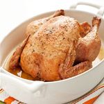 1 Chicken, 10 Easy Meals: Garlic & Rosemary Roasted Chicken With Potatoes (via Parents.com)