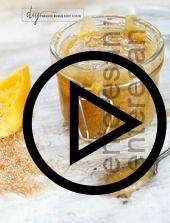 diy #body #scrub #with #mango #and #honey, #Body #DIY #Honey #Mango #scrub,diy body scrub with mango and honey...