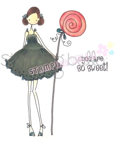 Stamping Bella - uptown Girl Claudia has a Candy
