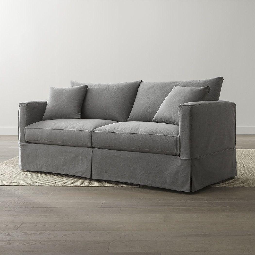 Willow Modern Slipcovered Sofa in 2020 Sleeper sofa