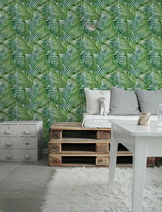 Palm Leaf Wallpaper Removable Wallpaper Self Adhesive Wallpaper Tropical Pattern Wall Covering Wa Palm Leaf Wallpaper Removable Wallpaper Leaf Wallpaper