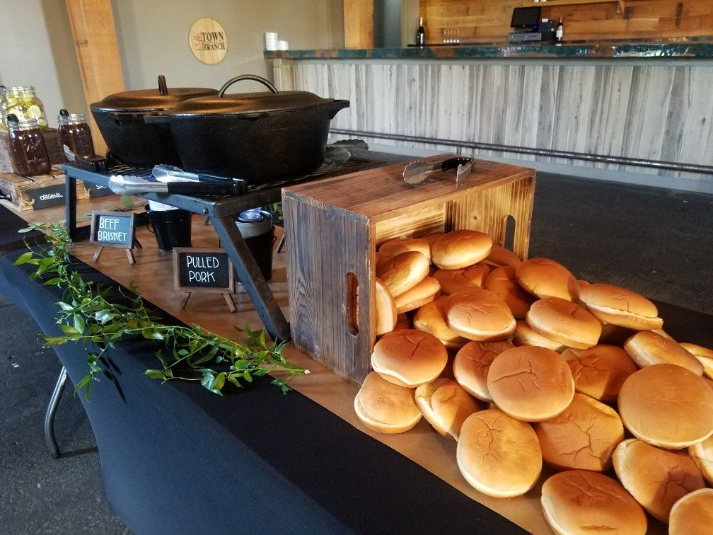 Wedding Catering With Images Bbq Wedding Wedding Catering Buffet I Do Bbq