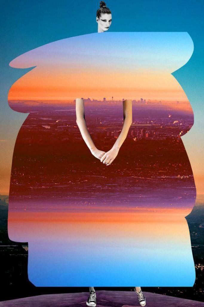 Johanna Goodman's Fashion Collage Art