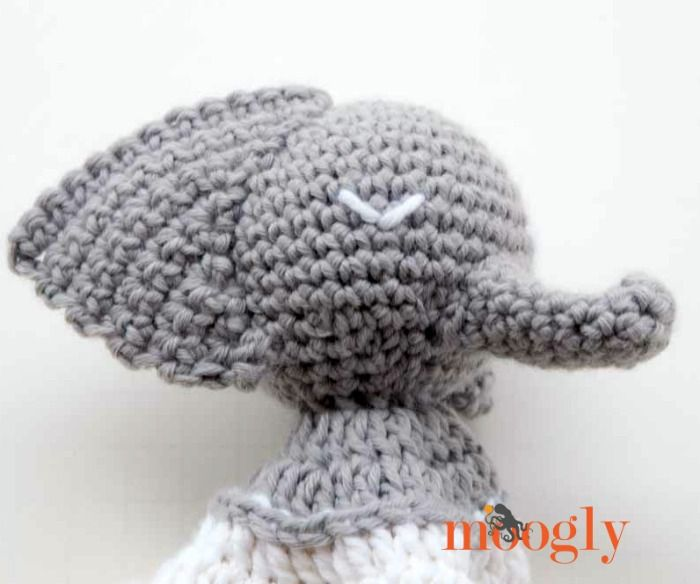 Ella the Elephant Lovey | Ganchillo, Bebe y Puntos