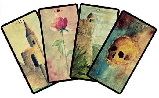 Cartes Divinatoires D Algariel Carte Divinatoire Divinatoire Et Cartes