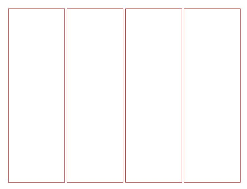 Blank Bookmark Template for Word | This is a blank template that can ...