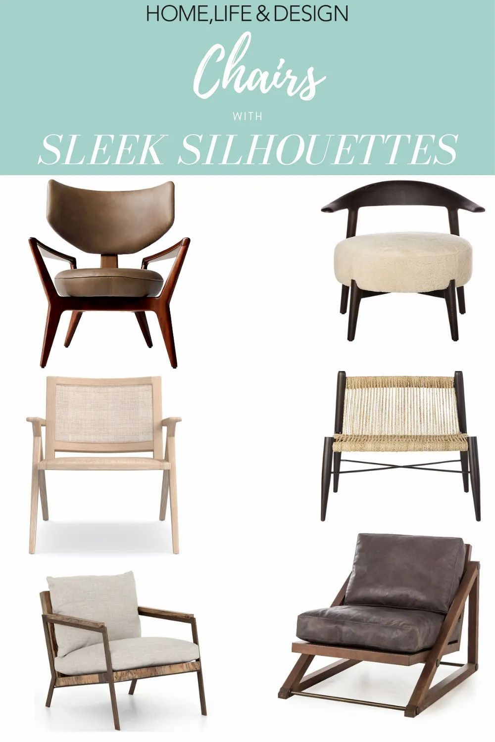 Sleek Chair Designs for Every Home Design Style in 8  Farm