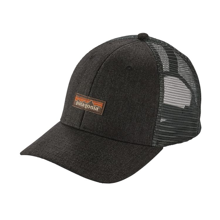 Patagonia Cotton Insulated Tin Shed Cap In Black For Men: Mesh Cap, Tin Shed, Fabric Headbands