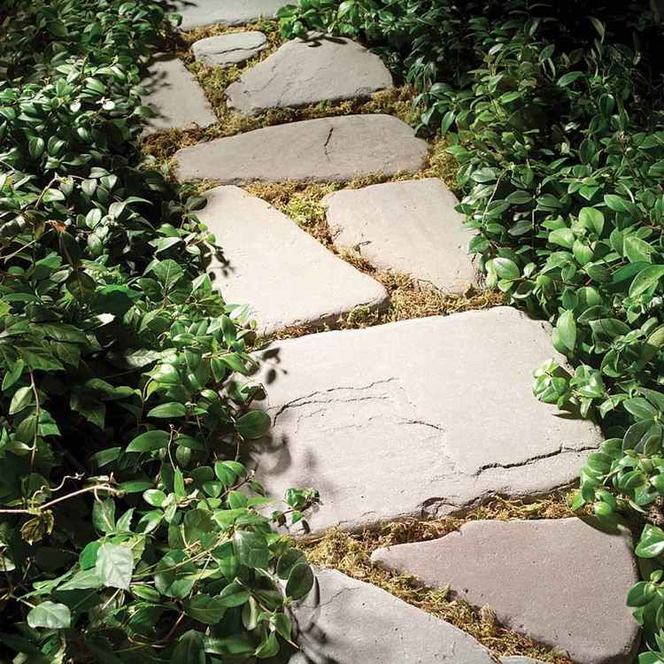 Gartenweg Gunstig Anlegen Mit Preiswerten Materialien In 2020 Gartenweg Garten Diy Gartenbau