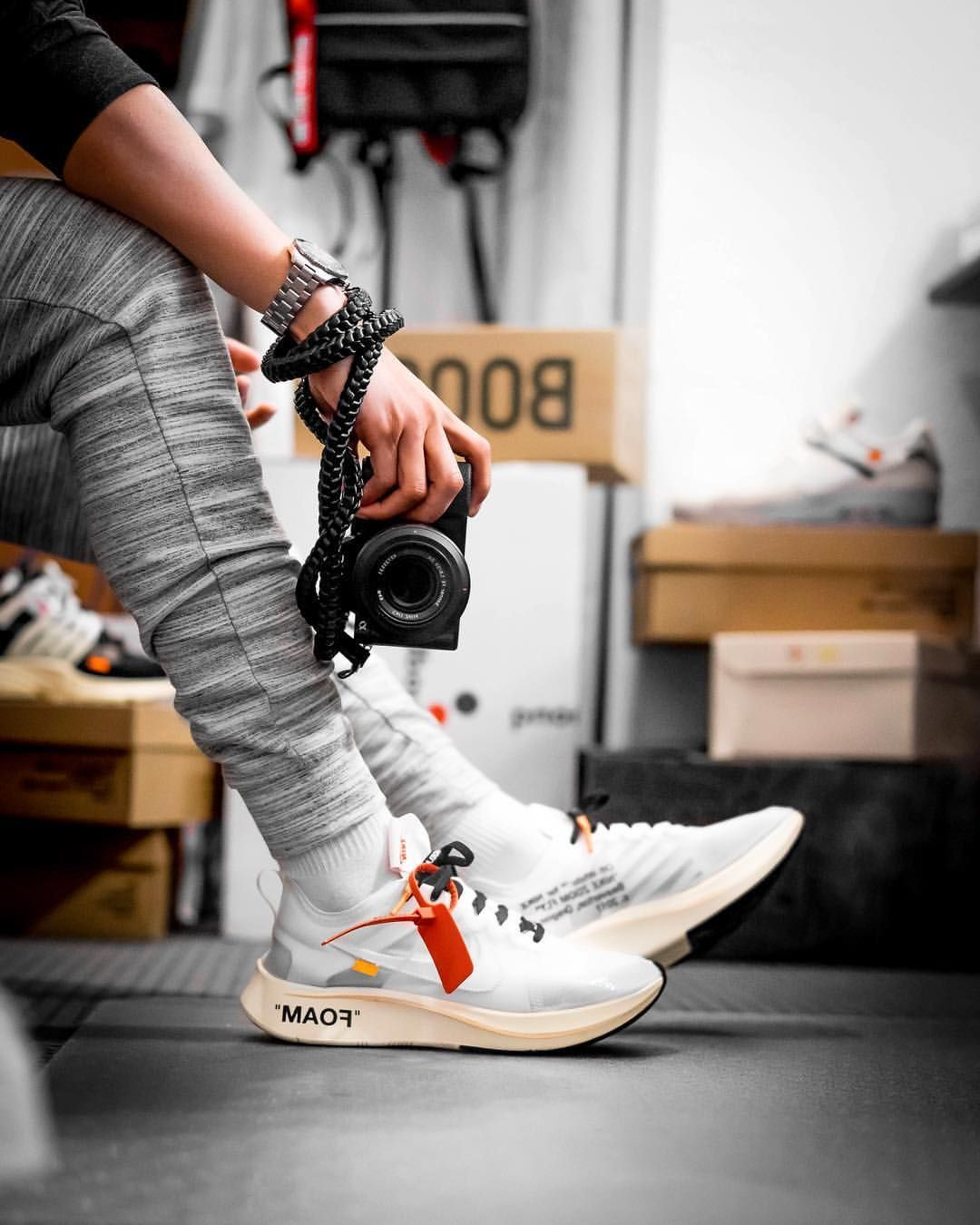 How to get Nike OffWhite Zoom Fly sneakers is part of Sneakers men fashion - How to get Nike OffWhite Zoom Fly sneakers Free shipping worldwide via DHL  100% money back guarantee  You will find the deepest and most versatile selection of kicks here