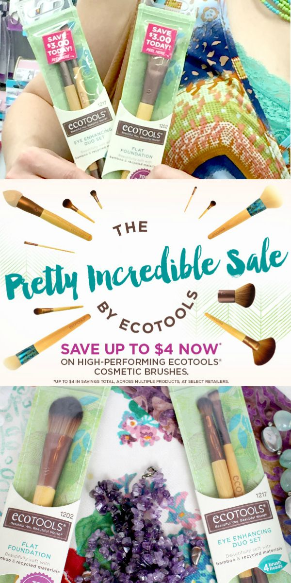 *Expired* Save up to 4 on EcoTools® Cosmetic Brushes It