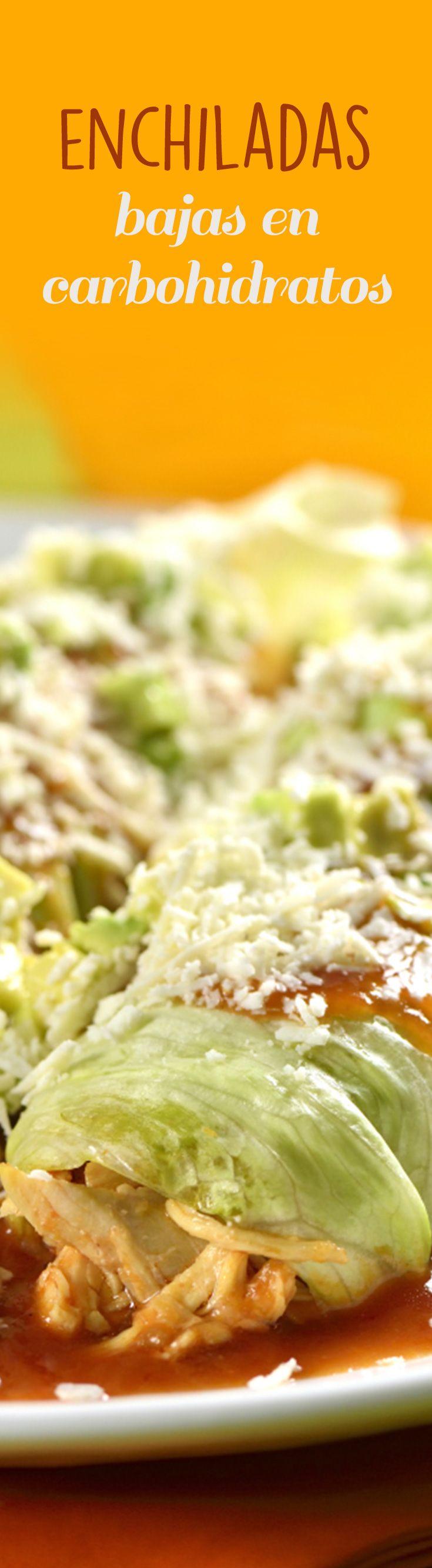 Enchiladas bajas en carbohidratos receta entremeses - Comidas sanas y bajas en calorias ...