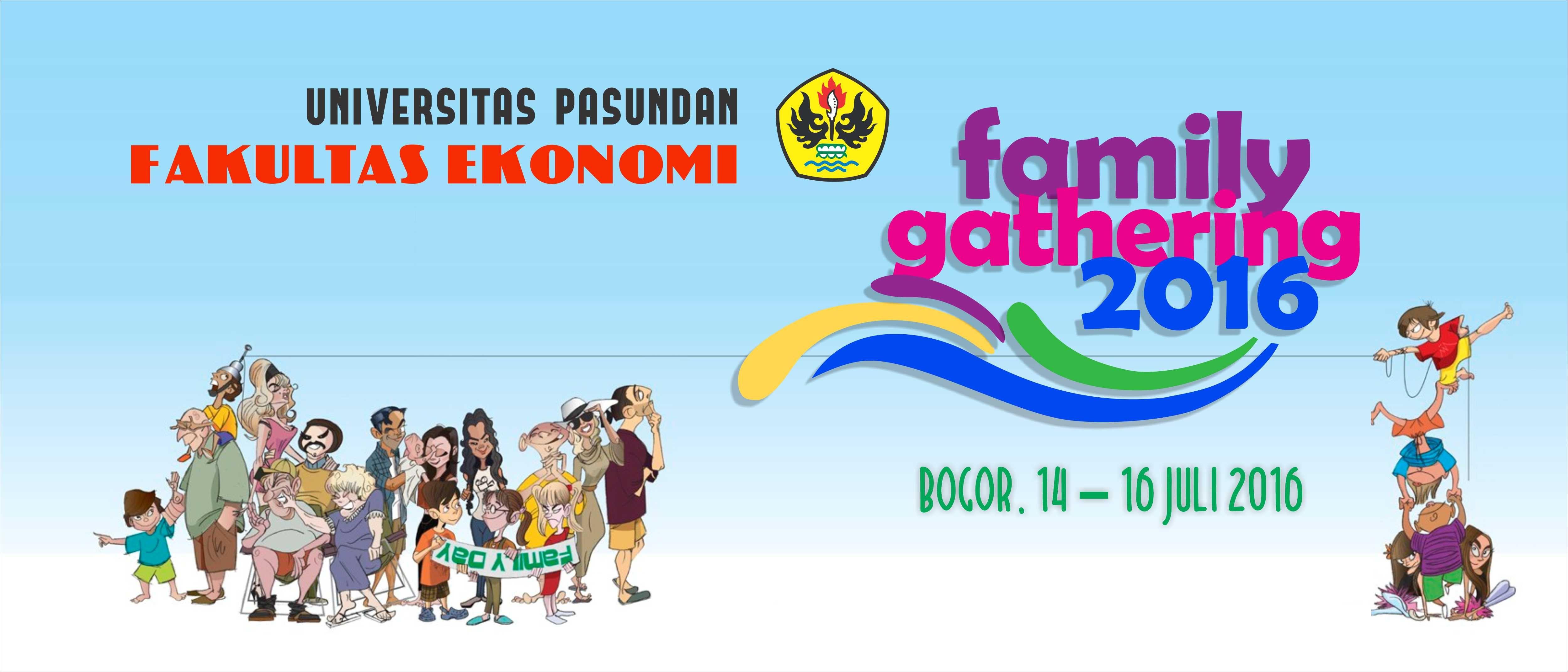Contoh Spanduk Family Gathering Rt - desain banner kekinian