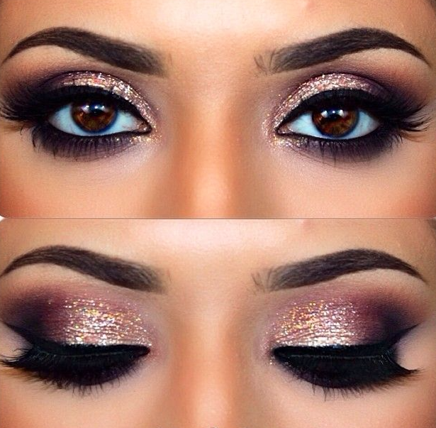 Sparkle and shine Bold Eyeshadow Looks To Inspire Your