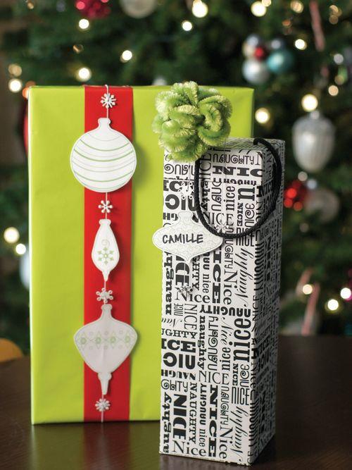 Mod Regalo Envoltura Por Sam Henderson Del Nido De Hoy Para Hgtv Holiday Giftschristmas