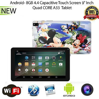 9 inch Mickey Android 4.4 Quad Core Tablet PC MID 8GB Dual Camera Wifi Bluetooth https://t.co/1Lbc2mmtVv https://t.co/IwBam4j6i3