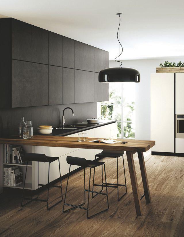 Cuisines design et élégantes | Beautiful textures, Kitchens and ...