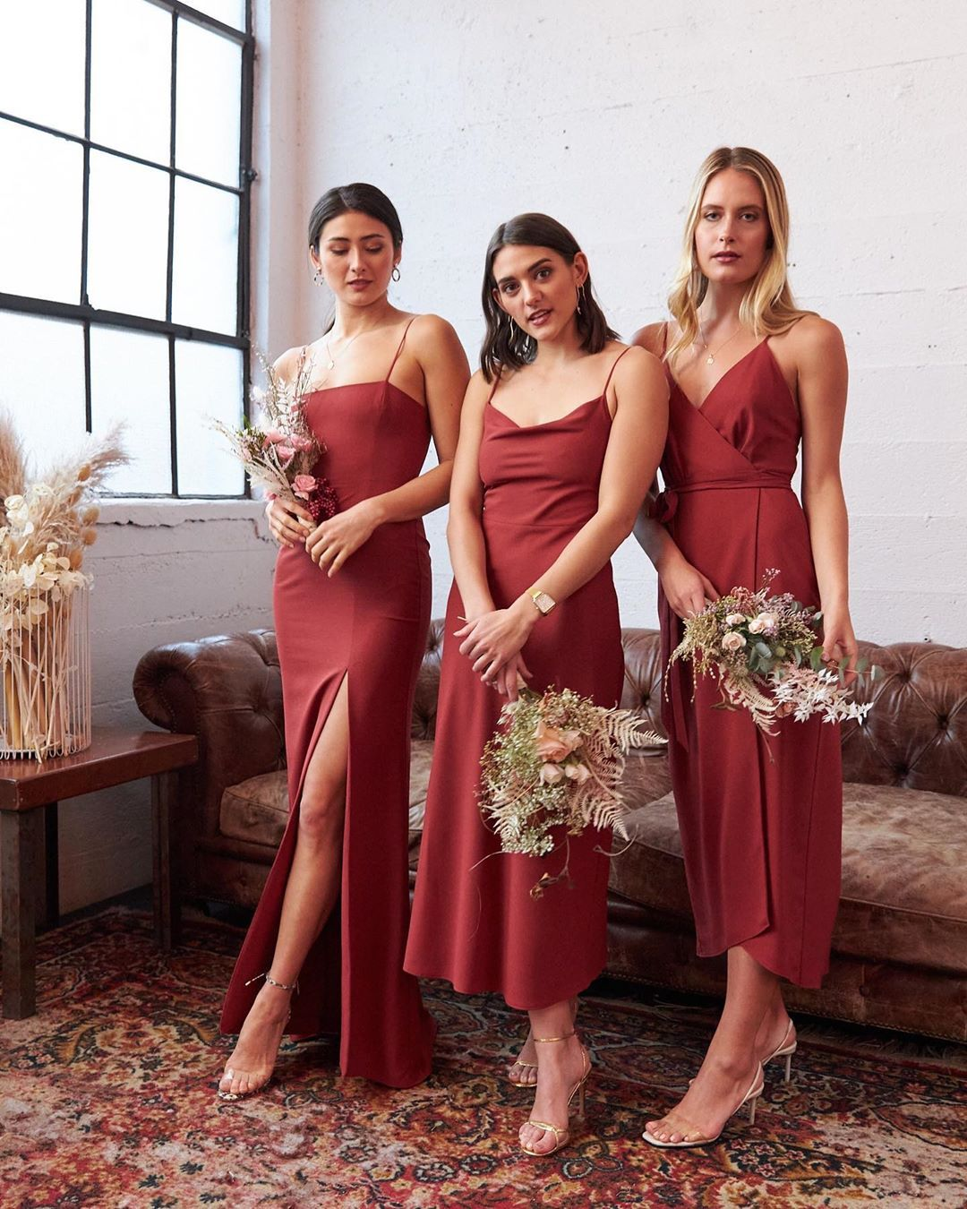 Park Fifth On Instagram Terracotta The Colour That Looks Good On Everyone Absolutely In Love With In 2020 Red Bridesmaid Dresses Bridesmaid Dresses Bridesmaid [ 1350 x 1080 Pixel ]